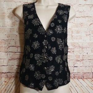 Impressions | Velvety Vest w/Shimmer